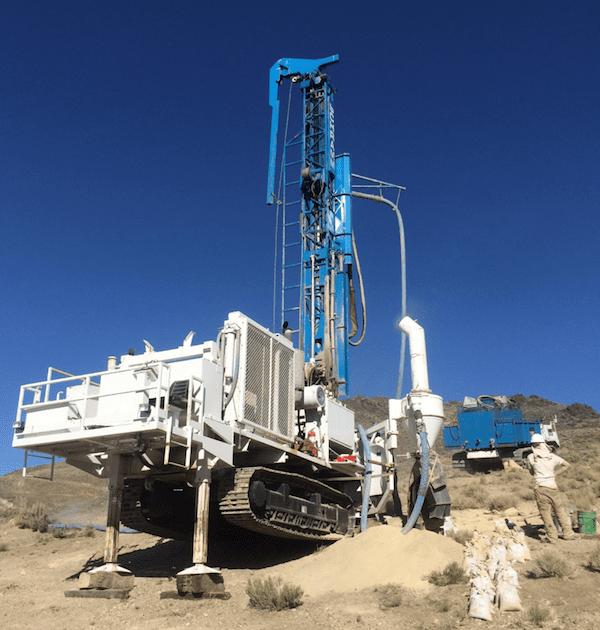 Newrange Gold Pamlico project drill
