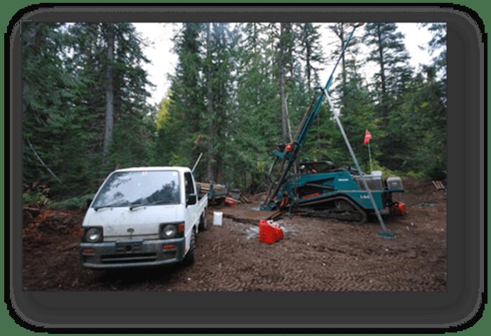 Commander Resources forest car