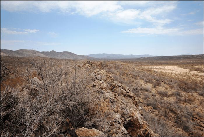 Commander Resources Mexico desert