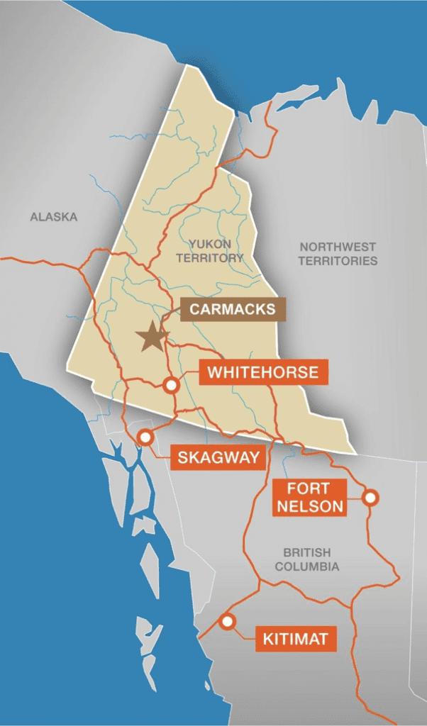 Copper North Mining Carmacks Project