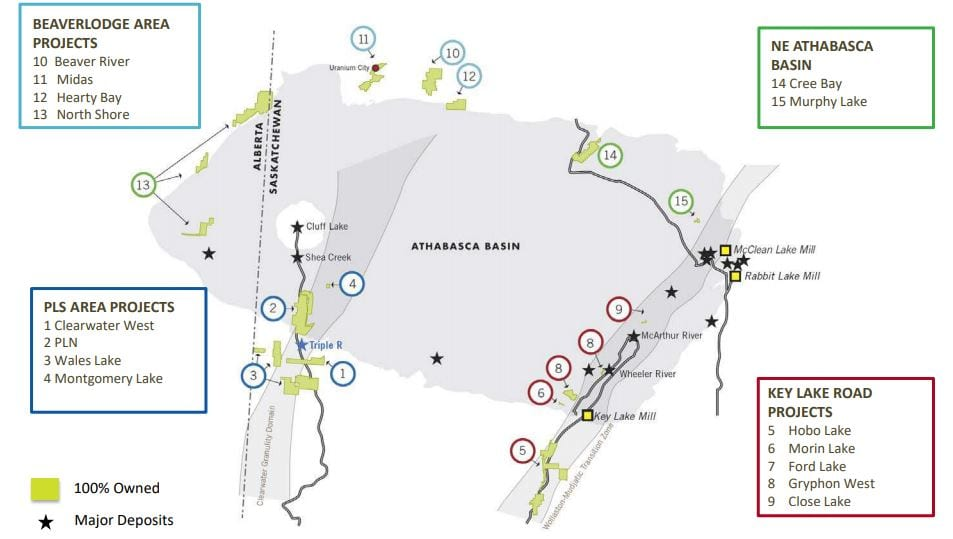 Fission 3.0 Athabasca Basin
