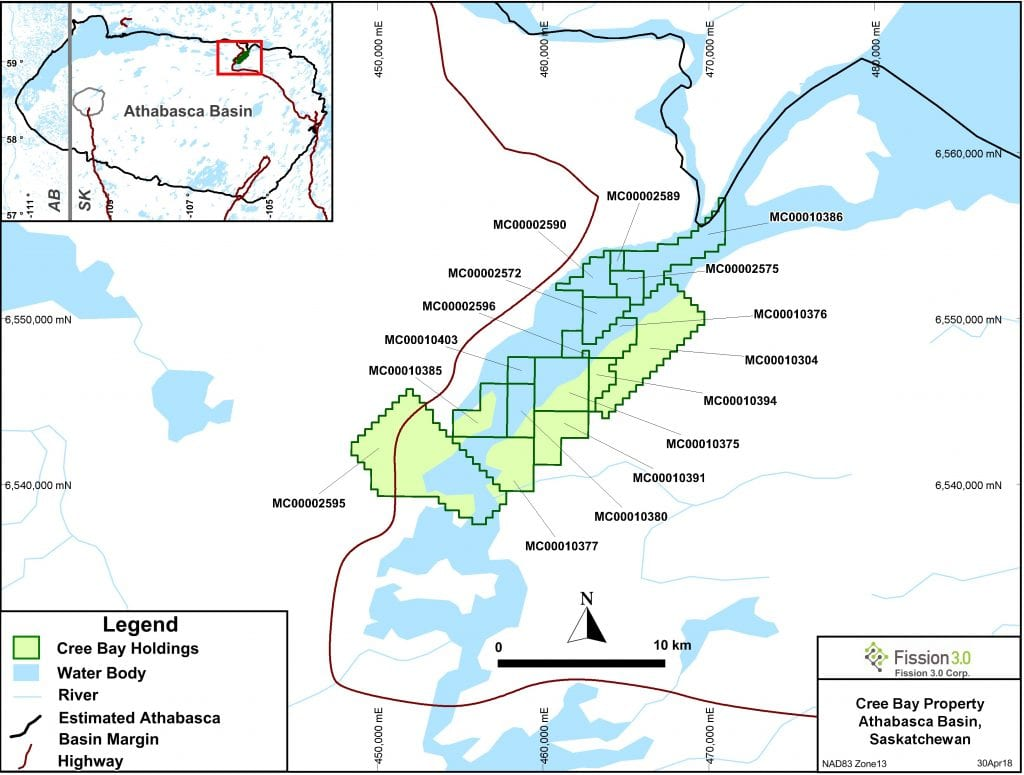 Fission 3.0 Cree Bay Map