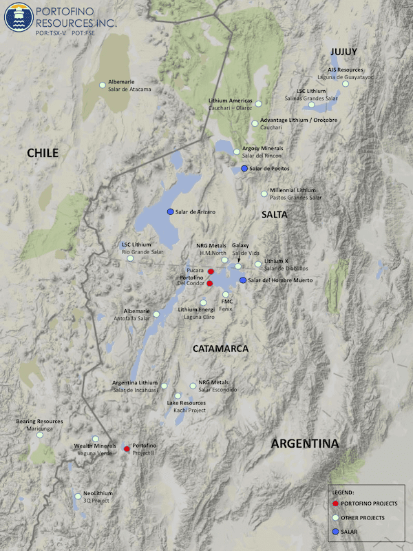 portofino property map