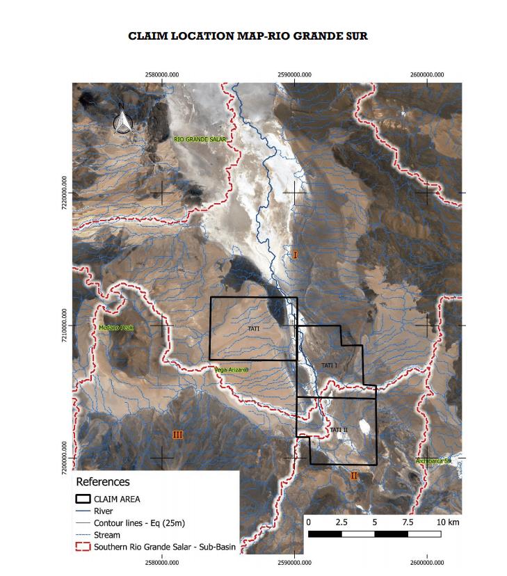 portofino claim location map