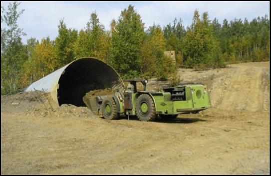 puma hole with vehicle