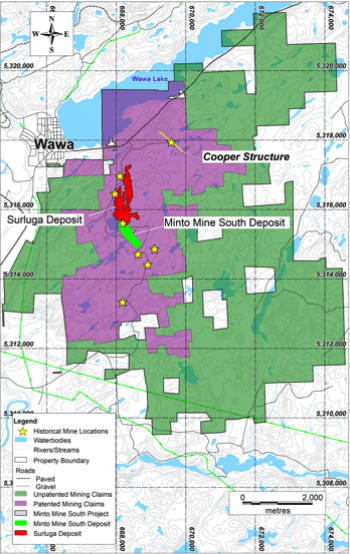 red pine discoveries multiple gold zones