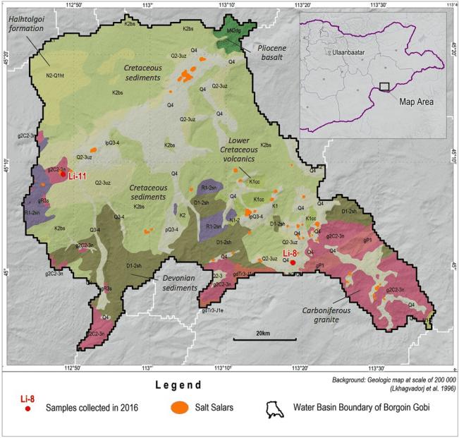Ion Energy Mongolia map