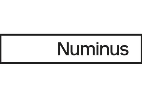 numinus black logo white back