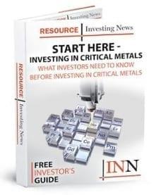 Critical Metals Starter Cover
