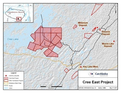 cree east project map