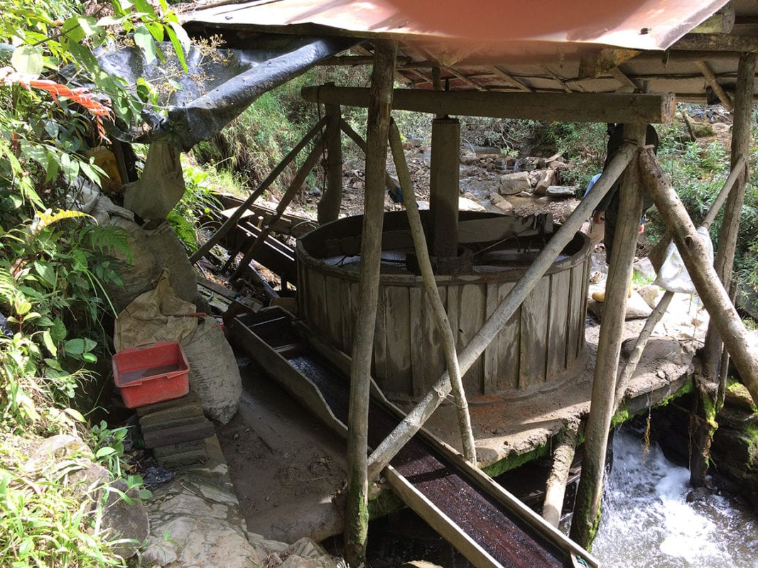 gravity mill