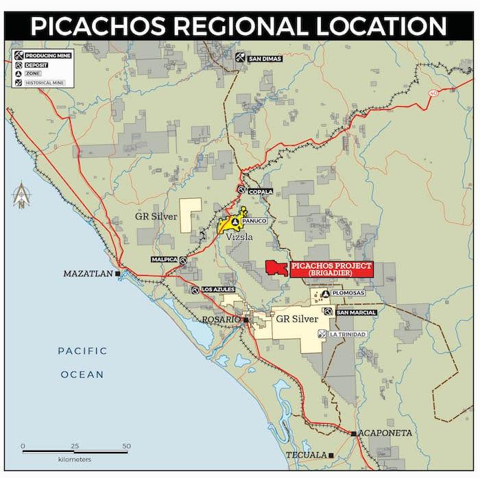 brigadier picachos regional location