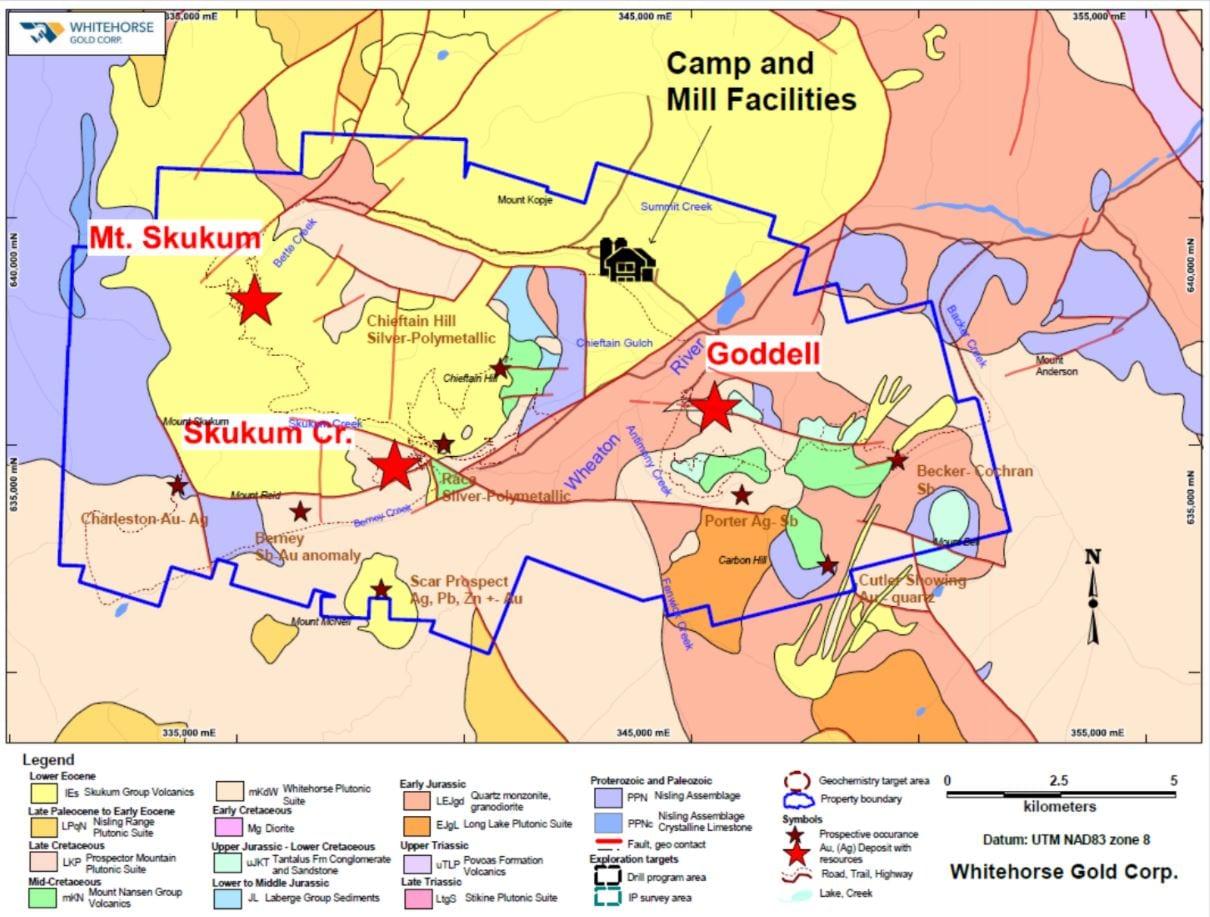 whitegold skukum deposit location map
