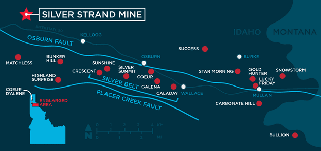 Silver Hammer Mining Silver Strand Mine