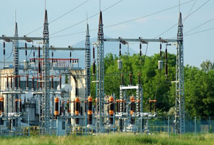 Electrical Power Lines from Nuclear Power Generation