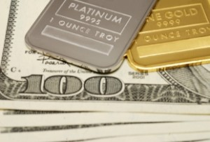 Platinum Tramples Gold in 2012