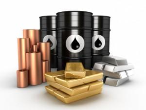 copper gold oil Eurozone US Jobs Data China