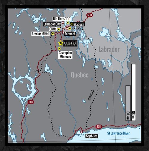 Focus-Graphite-Quebec-Mines