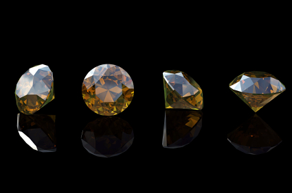 natural ct rough brown diamond