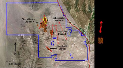 Corvus Gold Deposit-Locations