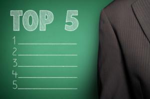 Top 5 TSX Gold Short Positions