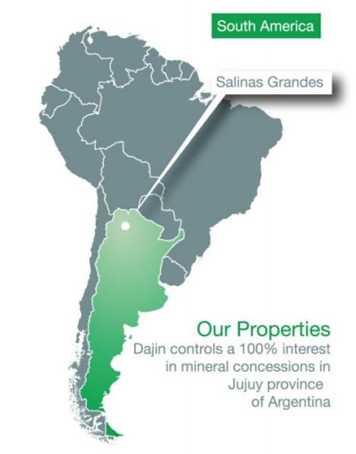 Dajin-Resources-Salinas-Grandes-Map