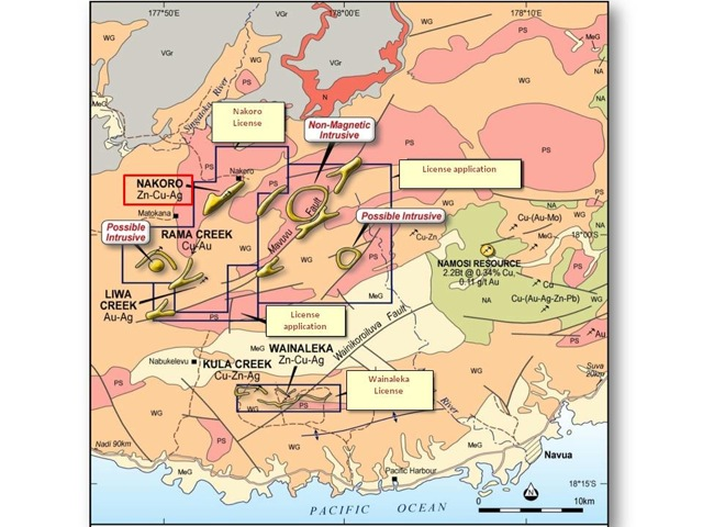 Thunderstruck Resources - Copper & Zinc Exploration in the Pacific Ocean's Ring of Fire