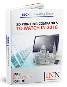 3D Printing Companies to Watch in 2018