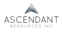 Ascendant Resources Provides Q1 2017 Progress Report on El Mochito Optimization and Announces 2017 Production Guidance