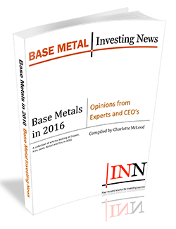 Base Metals in 2016: Opinions from Experts and CEO's