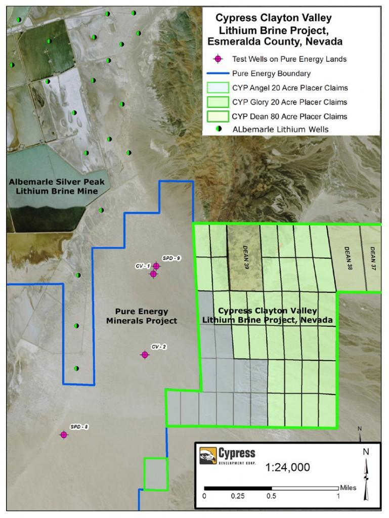 Clayton-Test-Wells-Plan-Map