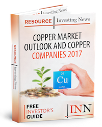Copper Market Outlook and Copper Companies 2017