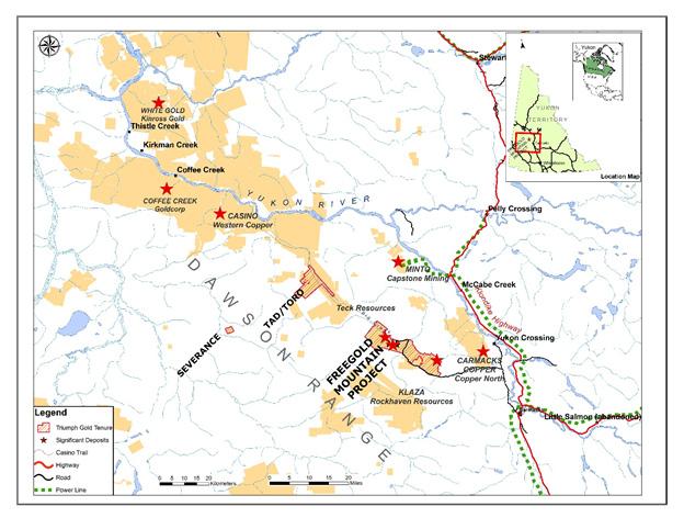 Triumph Gold - District-scale Gold Exploration in Yukon
