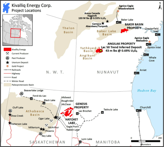 Kivalliq Energy Corporation – Building a Portfolio of High Quality Uranium Properties in Canada
