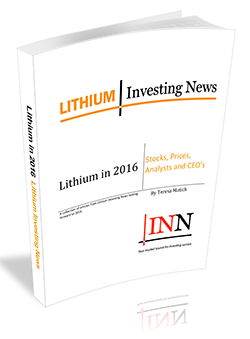 Lithium in 2016: Stocks, Prices, Analysts and CEO's