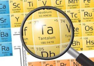 tantalum mining