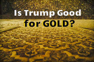 donald trump gold price