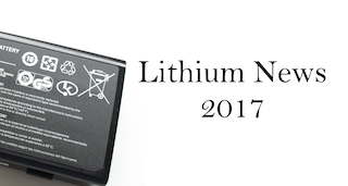 5 Top Lithium News Stories of 2017
