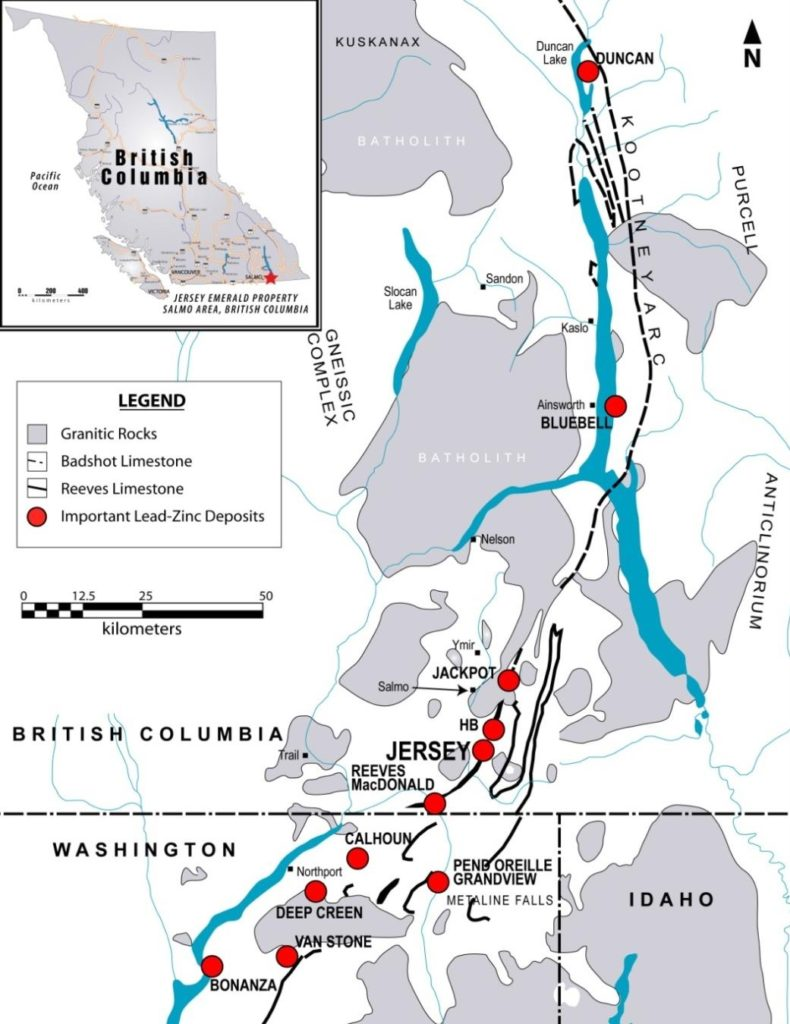 Margaux Resources - Zinc, Tungsten and Gold Consolidation in B.C.'s Kootenay Arc