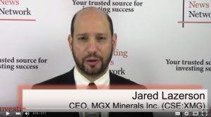 MGX Minerals Talks Industrial Minerals in Western Canada