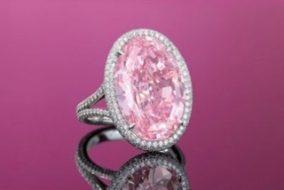 Rare 14.93-carat Pink Diamond Sells for $32 Million