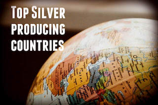 Top Silver Production by Country