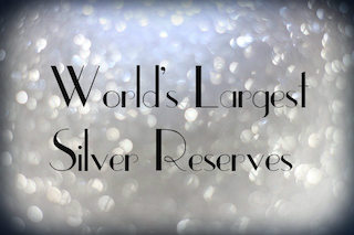 silver reserves by country
